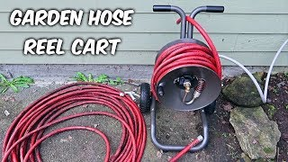 Don't Coil Garden Hose on a Ground