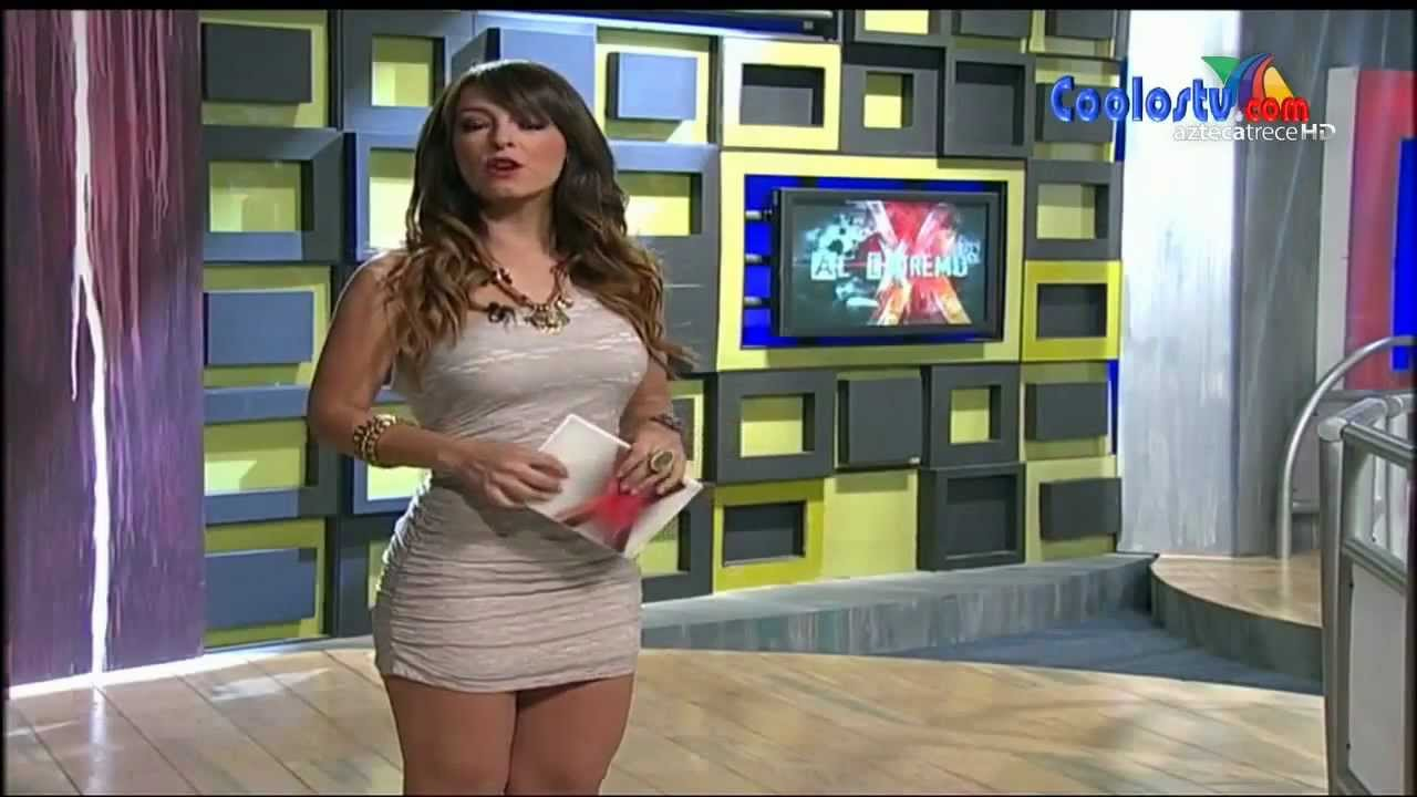 Descuidos De Conductoras Tv Azteca Y Televisa 2014