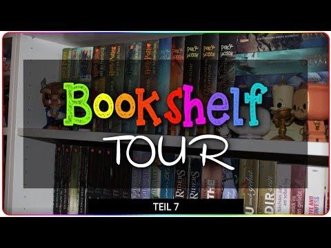 BOOKSHELF TOUR 2018 - Teil 7  | regenbogengarten