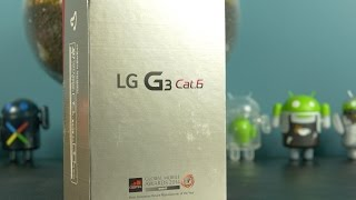 LG G3 Category 6 (Prime) Unboxing + Benchmark Test... in 4K!