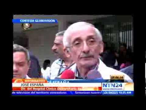 Director de Hospital Universitario de Caracas explica qué ocurrió durante el tiroteo