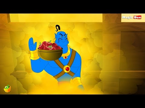 Aladdin And The Lamp - Arabian Nights In Tamil - Cartoon   Animated Stories video