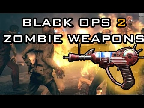 Call of Duty Black Ops 2 Zombie Guns - COD BO2