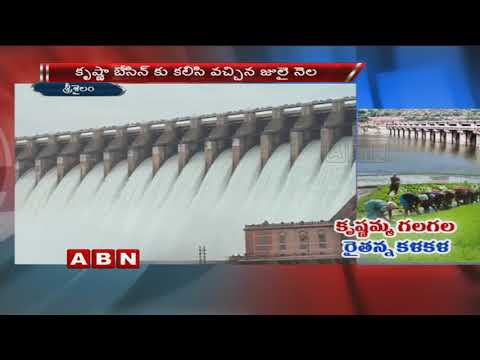 Water level in Srisailam likely to recede | ABN Telugu