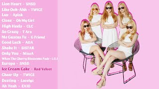 Download Lagu The Best K-Pop Girl Group Songs (Part 1) Gratis STAFABAND