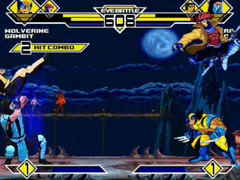 Team X-men vs. Team Mortal Kombat