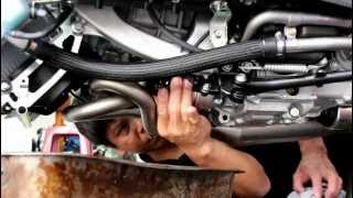TERMIGNONI Yamaha T MAX 530 change the oil filter