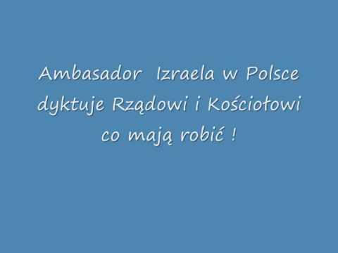 Dyktat  Ambasadora  Izraela  -  Prof. Wolniewicz