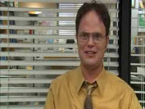 Dwight Schrute Ryan started the fire Video