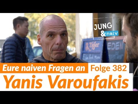 Your questions for Yanis Varoufakis - Jung & Naiv: Episode 381