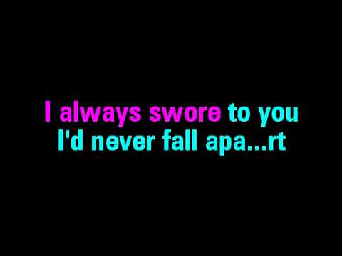 Fall For You Secondhand Serenade Karaoke - You Sing The Hits video