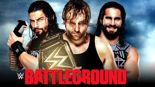 WWE Battleground 2016 Full Show Results - All Matches (WWE 2K16 Highlights)