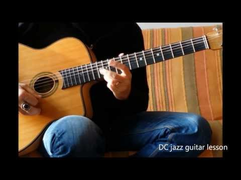 Paquito Theme + Grille D'accords Guitare . Jazz Manouche - Paquito Chord & Head Gypsy Jazz Guitar