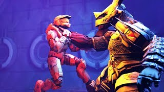 How Master Chief was ALMOST killed by 1 Brute