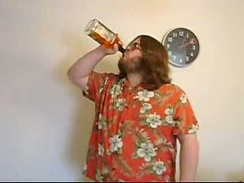 Guy drinks whole bottle of Jack Daniel's in under a minute Music Videos