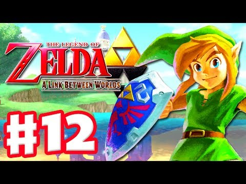 The Legend of Zelda: A Link Between Worlds - Gameplay Walkthrough Part 12 - Octoball (Nintendo 3DS)