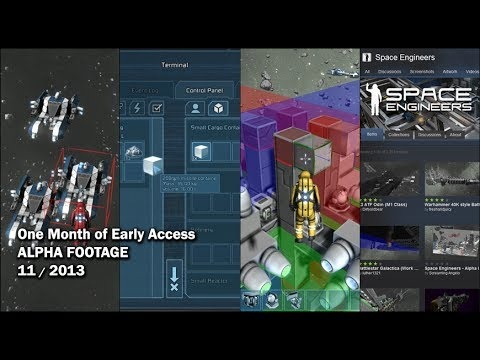 Space Engineers - One Month of Early Access