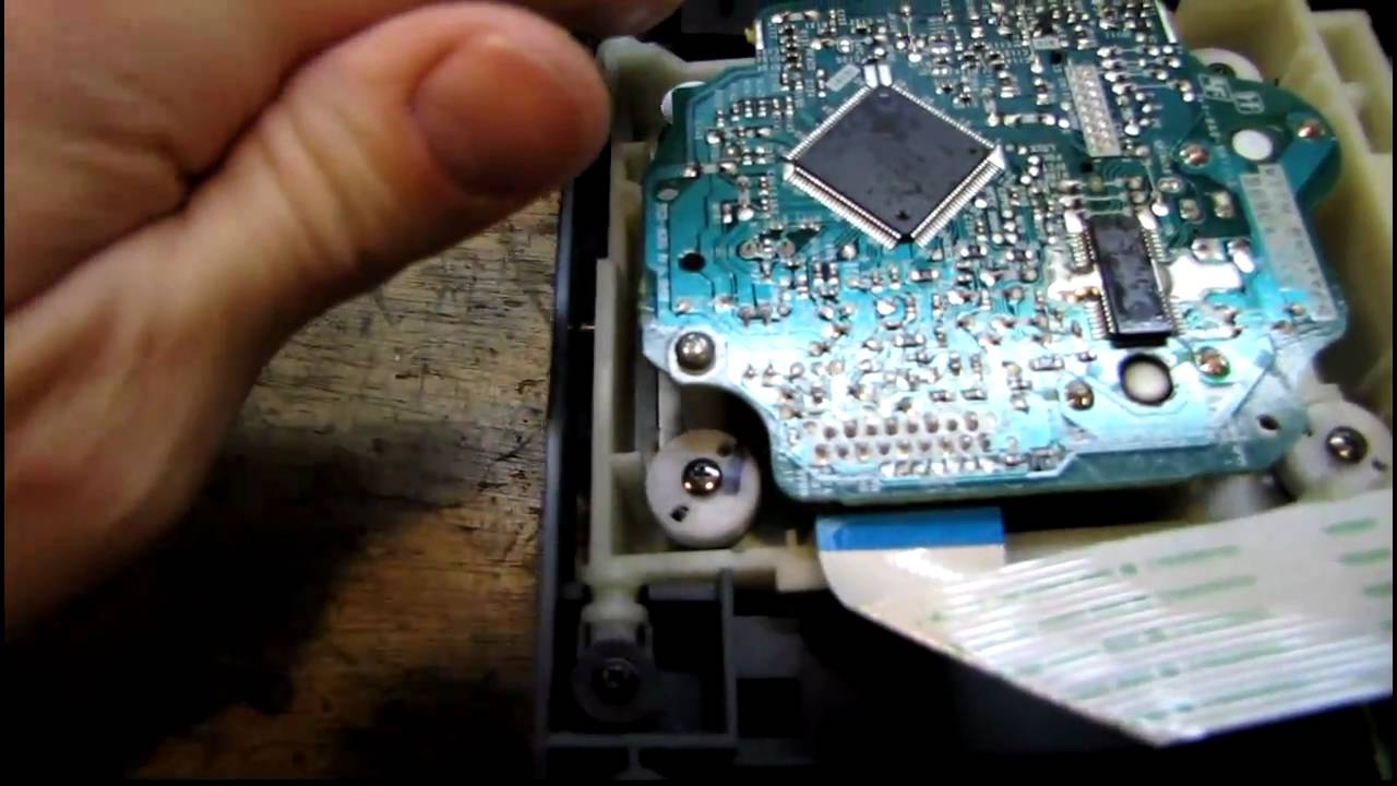 Sony Bookshelf Stereo Cd Repair Youtube