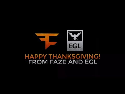FaZe Gives Back - Happy Thanksgiving!