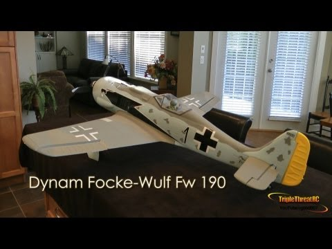 Dynam Focke-Wulf Fw 190 Unbox - SN Hobbies