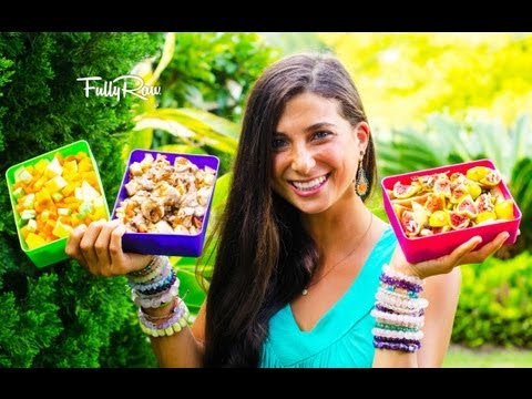 Healthy Raw Food Lunchbox Ideas!