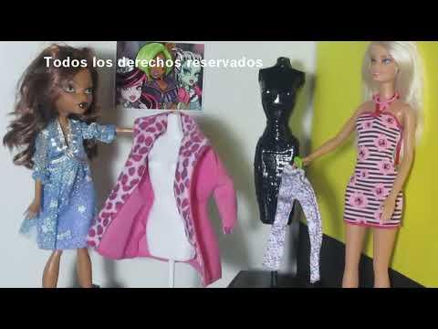 Episodio 657-Cómo hacer un maniqui para muñecas Monster High y Barbies