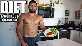 Full Day Of Eating and Training to Lose Fat and Gain Muscle in Quarantine