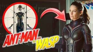 THE WASP (La Avispa) Primer Vistazo en ANT-MAN and THE WASP!