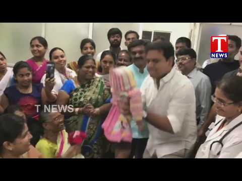 Minister KTR Sudden Visits Basthi Dawakhana At Begumpet | Hyderabad | TNews live Telugu