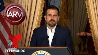 Exigen renuncia del gobernador de Puerto Rico | Al Rojo Vivo | Telemundo