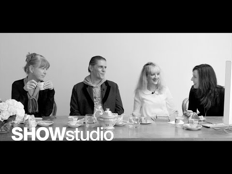 SHOWstudio: Christian Dior Spring/Summer 2013 Panel Discussion