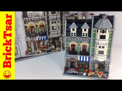 LEGO Modular Building 10185 Green Grocer from 2008! Review