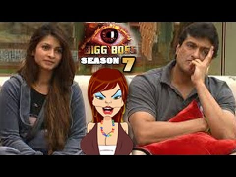 Bigg Boss 7 5th October 2013 Full EPISODE -- Tanisha Armaan Get Close