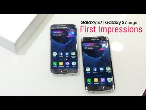 Samsung Galaxy S7 & S7 Edge: First Impressions
