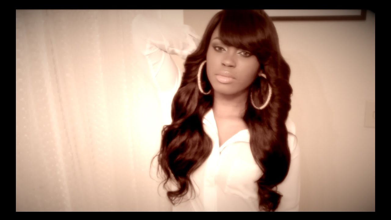 Weave Hairstyles With Side Bangs