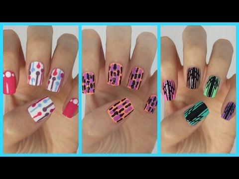 Easy Nail Art For Beginners!!! #14 | MissJenFABULOUS