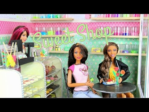 How to Make a Doll Sweet Shop