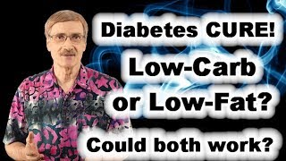 Victory over Diabetes - Is it low-carb or low-fat? Or could both work?