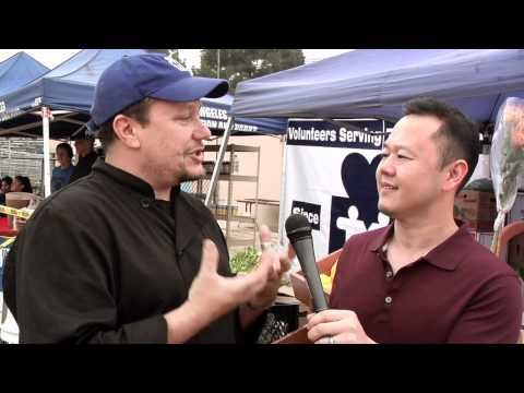 Chef Jet Tila interviews nonprofit MEND - Good Food Day LA 2012