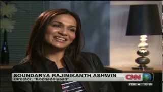 Kochadaiyaan - Soundarya R. Ashwin on Kochadaiyaan 3D - CNN News