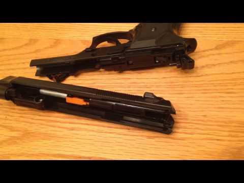 How to make any spring airsoft handgun  semi auto!