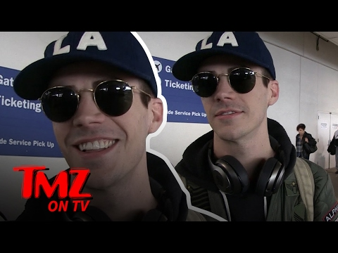 Grant Gustin The Flash Is Fast At Everything Except... | TMZ TV