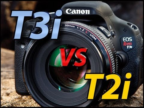 Canon T2i vs T3i Comparison Tutorial | What are you getting for that extra $100?