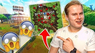 MEGA DRUKTE IN DUSTY DIVOT!! - Fortnite Battle Royale (Nederlands)