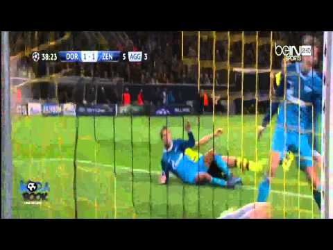 Borussia Dortmund vs Zenit 1 2 All Goals  Full Highlights Champions League 19032014 HD