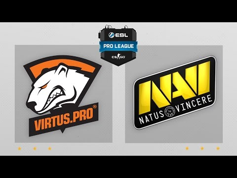 CS:GO - Virtus Pro Vs. NaVi [Train] Map 2 - ESL Pro League Season 4 - EU Matchday 19