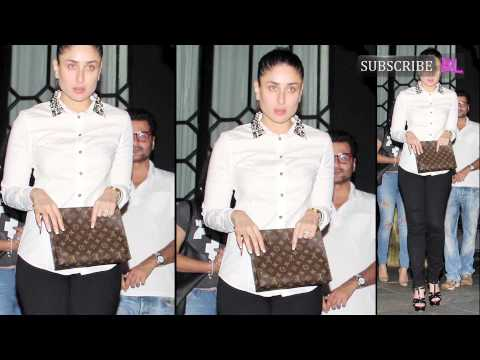 Kareena Kapoor Khan spotted at Karan Johar's place