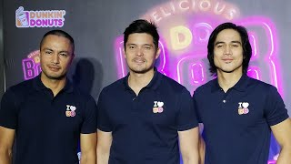 Dingdong Dantes joins Derek Ramsay and Piolo Pascual as Dunkin' Donuts Philippines newest ambassador
