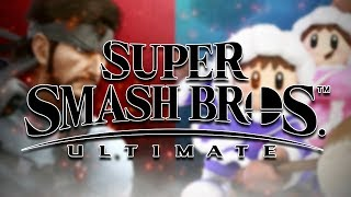 SOLID SNAKE VS ICE CLIMBERS DIRECT FEED GAMEPLAY! - SUPER SMASH BROS ULTIMATE [E3 2018]