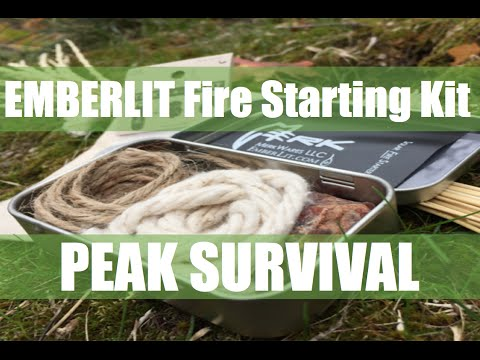 Emberlit Fire Starting Kit & Tools